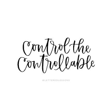 Lesson 220: Control the controllable | Lettering, Lesson, Hand lettering